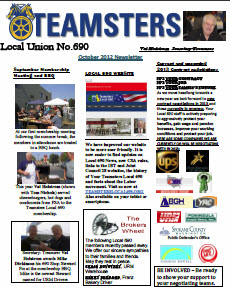 Download a pdf version of this month's newsletter