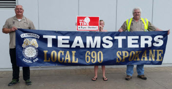 Teamsters support teachers