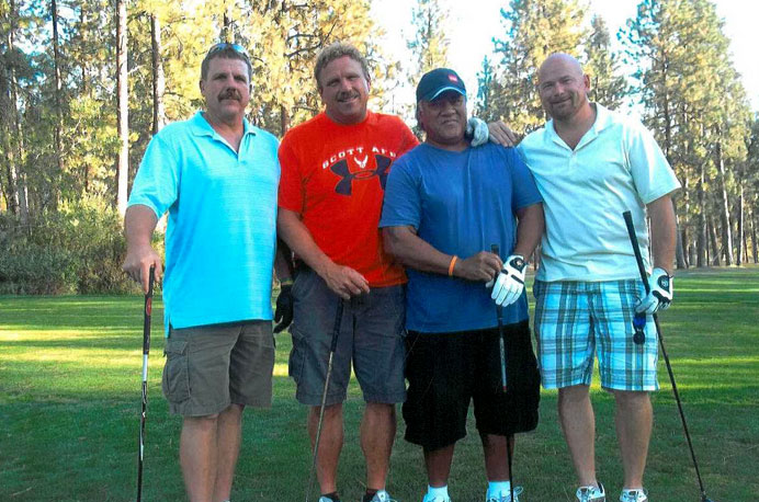 Scenes from the 2012 Golf Tourney