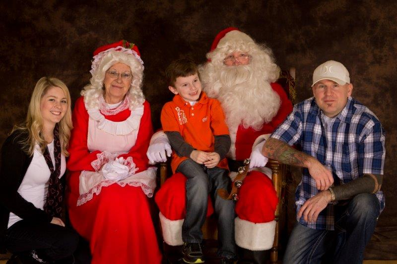 2013 Christmas Party, Santa Photos