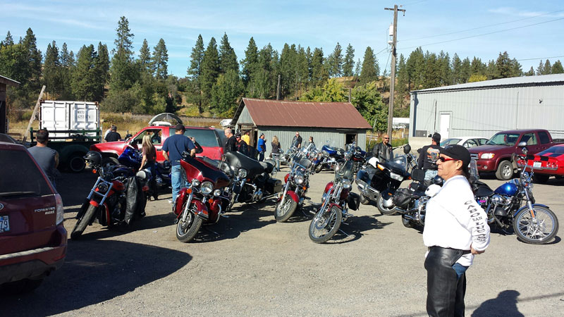 Scenes from the 2014 Charity Poker Run