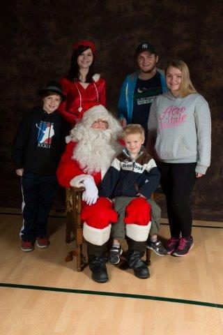 2014 Christmas Party, Santa Photos 1