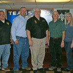 Executive Board Re-elected by Acclamation