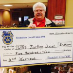 Local 690 Donates to Second Harvest and Tom's Turkey