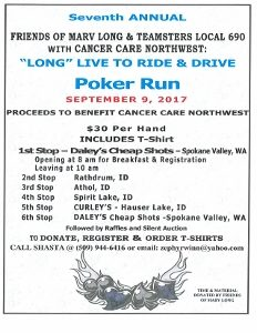 2017 Long Live to Ride Poker Run