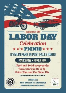 Labor Day Picnic @ Q'Emlin Park