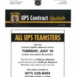 UPS CONTRACT TELEFORUM CALL
